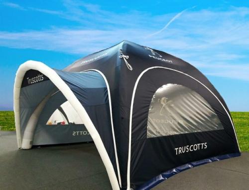 Truscotts Peugeot – Event Tent