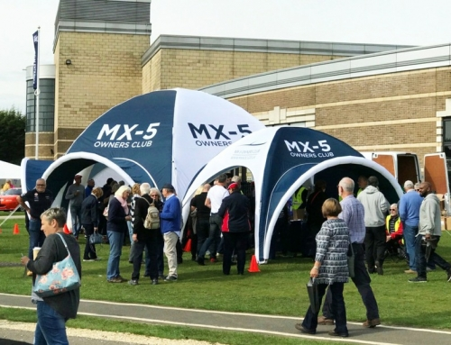 MX-5 Owners Club – Inflatable Event Tent