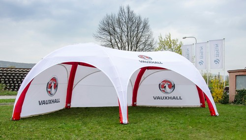 Axion Hexa event tent for Vauxhall