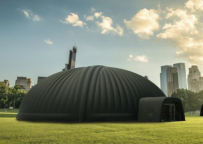 25m Inflatable Dome for Antwerp Museum Project
