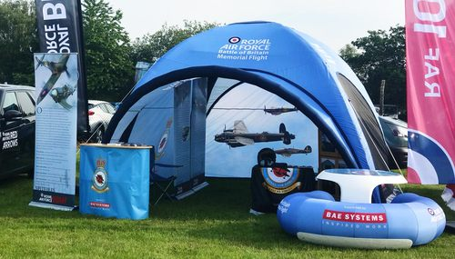 Axion Square Event Tent for the RAF