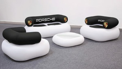 Axion Inflatable Furniture for Porsche
