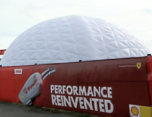 Inflatable Domes for Shell UK