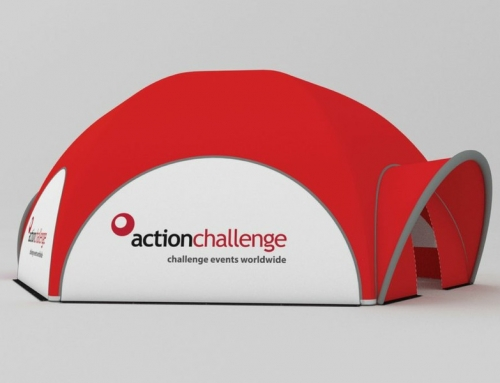 Action Challenge – Inflatable Event Tent