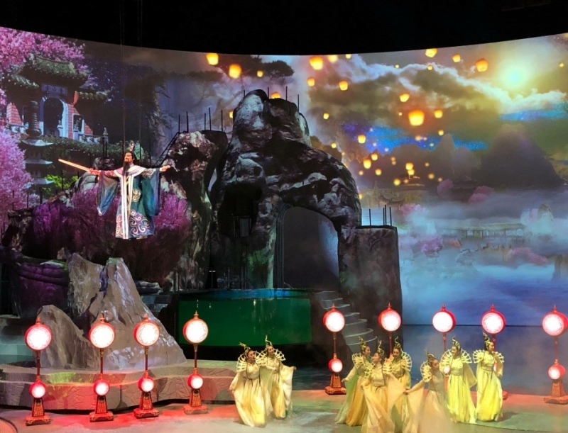 Stage Set for China Theatre Production