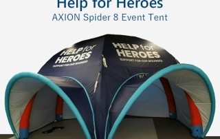Help for Heroes - Axion Spider 8 Event Tent