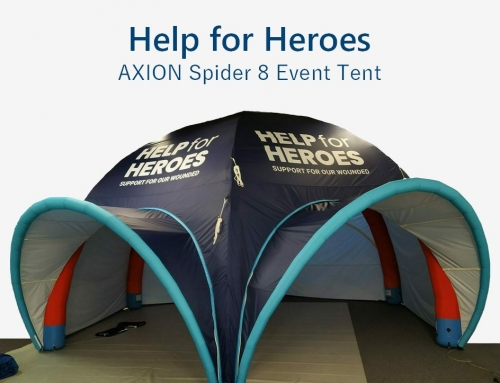 Help for Heroes choose the Axion Spider 8