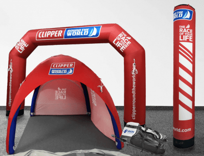 Promotional Inflatables for Clipper Ventures
