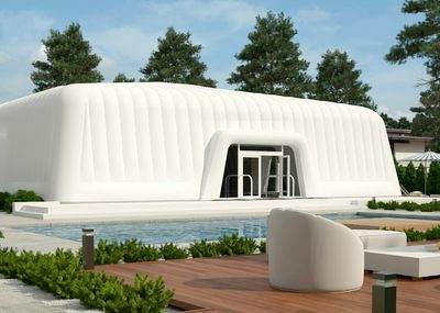 3D Inflatable Marquee Render