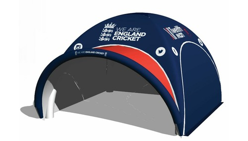 Axion Square Inflatable Event Tents for England Cricket