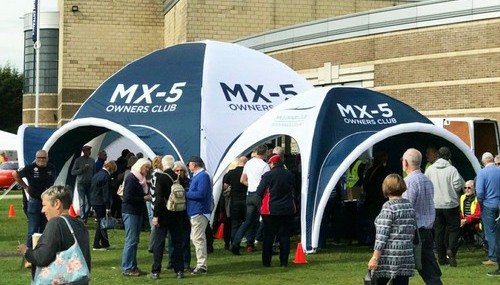 Axion Inflatable Event Tents for Mazda