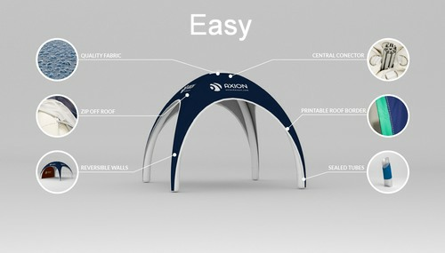 Inflatable Event Tents - Axion Easy Budget Inflatable Event Tent - Features