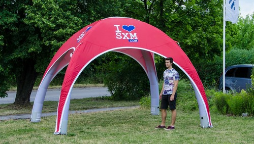 Inflatable Event Tents - Axion Easy Budget Inflatable Event Tent for SXM
