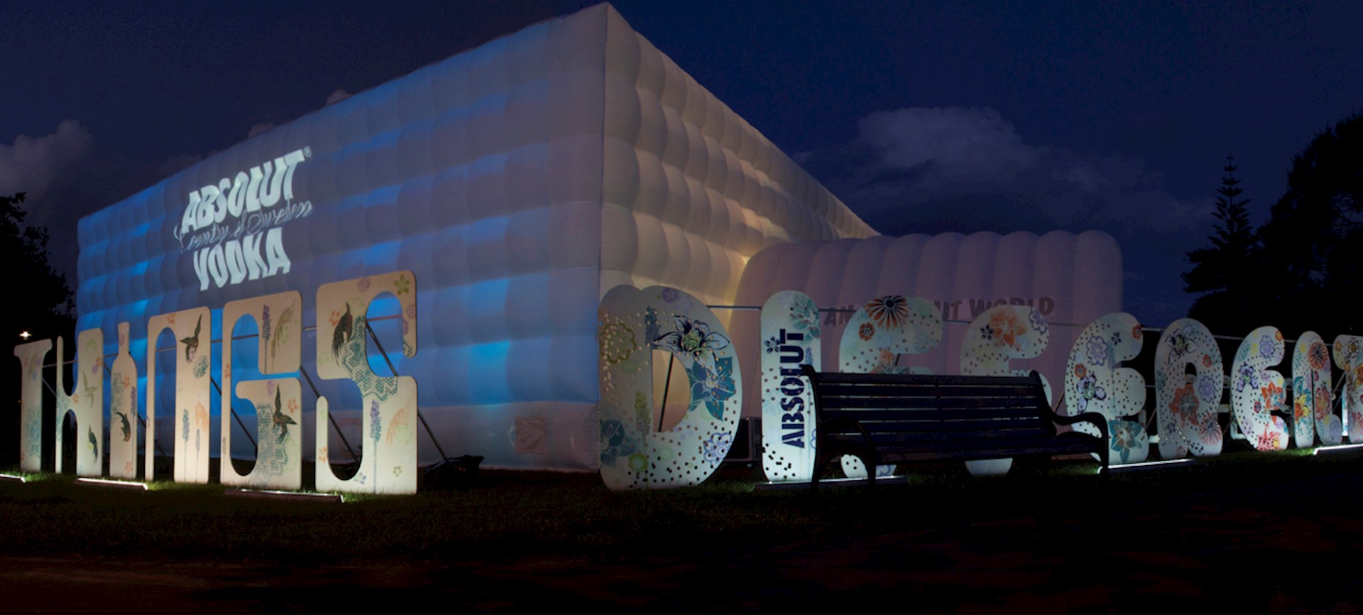 Inflatable Marquee for Absolut Vodka