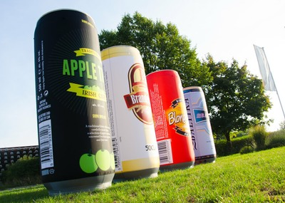 Inflatable drinks cans - Promotional Inflatables by Inflatable Structures Ltd.