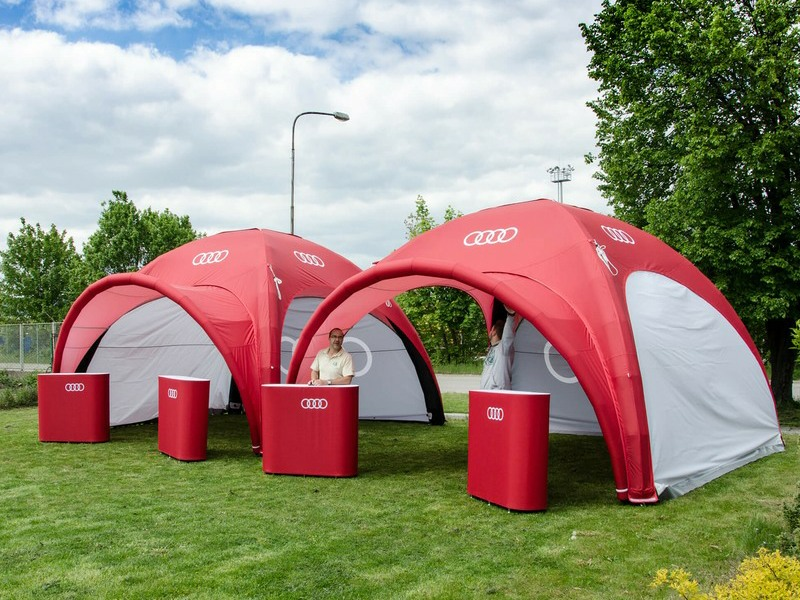 Axion event tent & furniture packages
