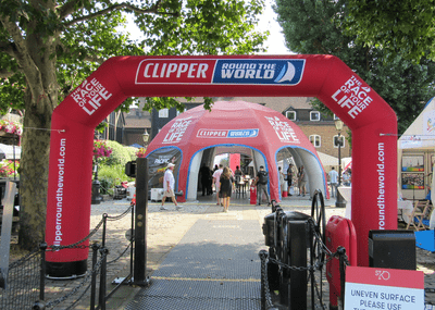 Inflatable Arch for Sports Events - Inflatable Start/Finish Arches