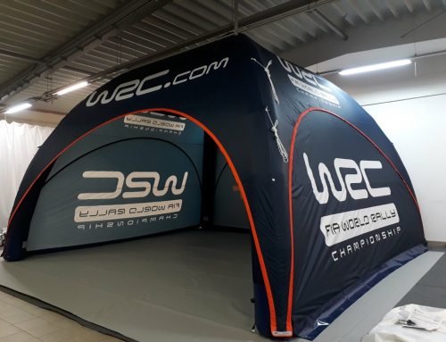 50 M2 Event Tent for the WRC