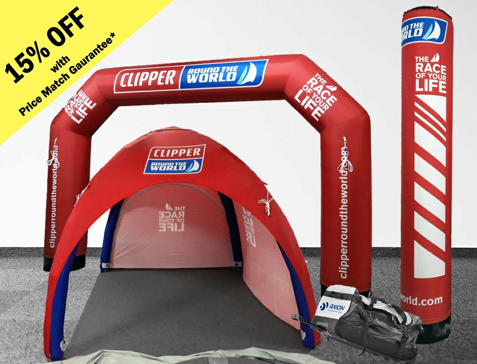 15% OFF Inflatable Event Tents purchased before end of 2019