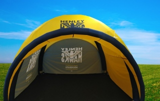 Rugby Event Tent - Axion 44 Lite 4m x 4m Inflatable Event Tent