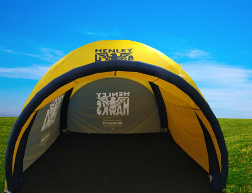 Henley Hawks Rugby Event Tent