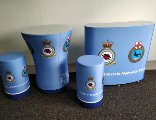 RAF Coningsby – Inflatable Furniture & Event Tent