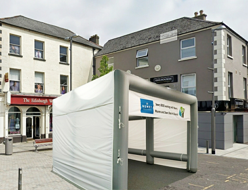 Axion Cube Tent for Newry BID