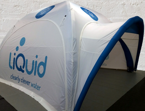 Thinknblink – Event Tent for liQuid