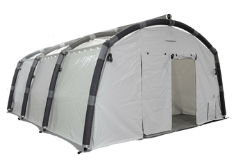 ERA Inflatable tents can be used as vaccination centre tents due to their rapid setup and all weather suitability