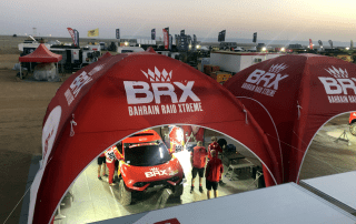 Motorsports Service Tents for the Dakar Rally
