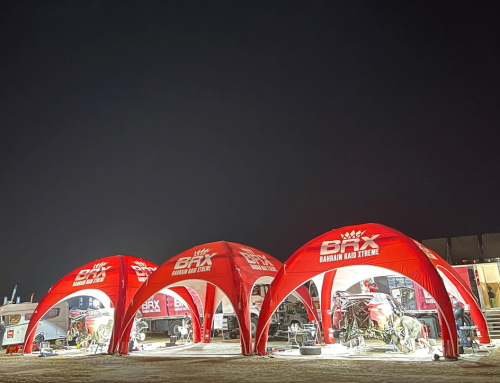 Axion Tents for the Dakar Rally