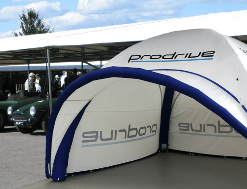 Prodrive at Goodwood with an Axion 55 Inflatable Tent